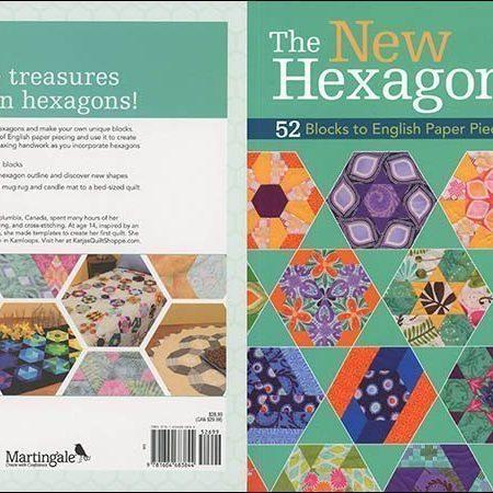 Boek. Quilten. Schrijver: Katja Marek. Titel: The New Hexagon