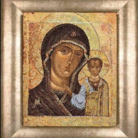 Borduurpakket. Thea Gouverneur. Aida. Holy Virgin of Kazan
