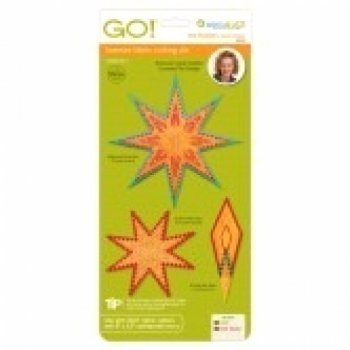 Stansvorm Snijmal Eight Pointed Star Accuquilt. Merk: Accuquilt